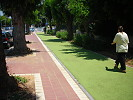Bicycle Lane in AshdodIsrael